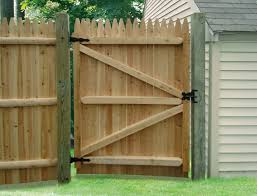 Wooden Fence Gates Designs WOOD FENCE DOORS  Interior Doors - Backyard gate designs