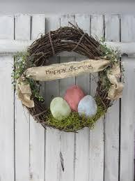 easter wreath spring wreath easter spring decor