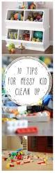 10 tips for messy kid clean up