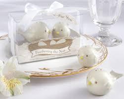 wedding salt and pepper shakers bird theme baby shower favors by kate aspen salt pepper shakers