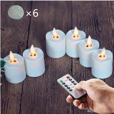 led tea lights with timer flameless moving wick battery operated votive led tea lights with 10