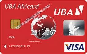 loadable debit card uba africard best debit card to shop online from nigeria ajthegenius