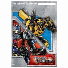 transformers party supplies transformers party supplies loot bags at toystop