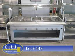 steam table with sneeze guard 5 well stainless steel castered steam table w sneeze guards tray