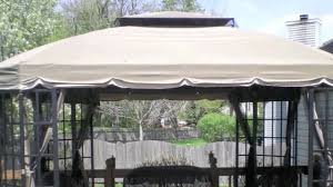 Garden Winds Pergola by Canada Replacement Gazebo Canopy Covers Garden Winds Canada Garden