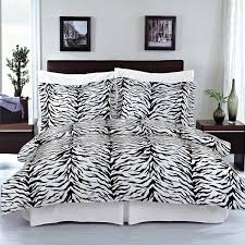 black and white zebra print curtains