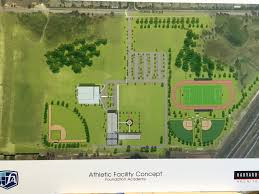 on campus stadium sports complex in sight for foundation academy