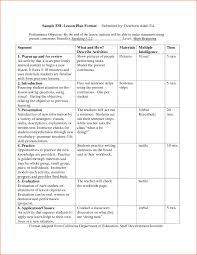 7 sample lesson plan format bookletemplate org esl kindergarten