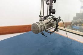 chambre d enregistrement microphone dans la chambre d enregistrement image stock image du