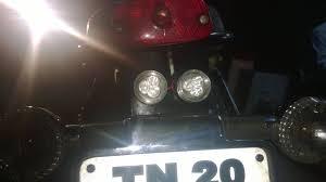 led strobe lights for motorcycles motorcycle led strobe light brake lights youtube