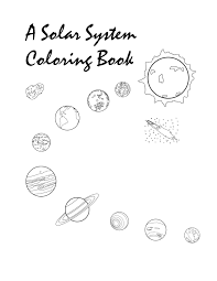 free printable solar system coloring pages kids