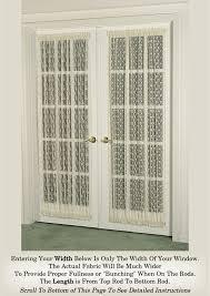 door curtains in fine lace assortment door curtains