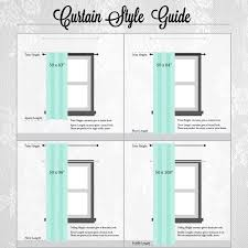 astonishing decoration curtain length sizes crafty design standard lengths curtains gallery