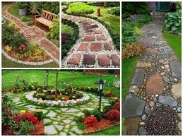 garden walkway ideas 30 design ideas for beautiful garden paths diy youtube