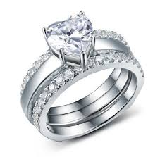 cheap diamonds rings images 1ct famous designer heart jewelry synthetic diamonds rings set jpg