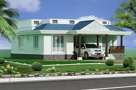 Kerala Style 3 Bedroom Single Floor House Plans 3 Bhk Traditional Kerala Villa At 1100 Sq Ft