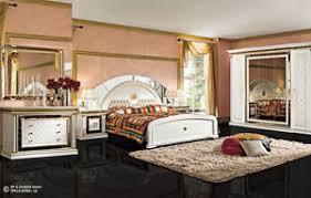 schlafzimmer aus italien komplett schlafzimmer set zeus weiß gold hochglanz klassische stil