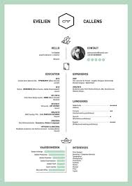 creative resume design career picmia
