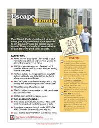 planning preparation increases your chances of escaping a fire