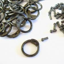 round wire rings images Riveting rings 8 mm round wire with round rivets 1 kg the jpg