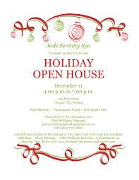 templates for xmas invitations invitation xmas template best holiday open house invites etame