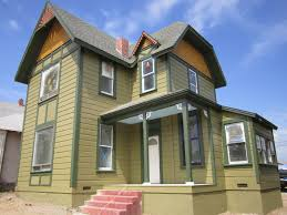 victorian historic house colors green button homes of