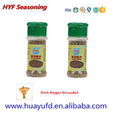 2015 fresh seasoning single spices shaker cracked black pepper and
