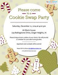 cookie invitations to print lovetoknow