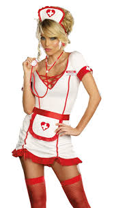 Nurse Halloween Costumes Womens Juana Sedated Nurse Costume Costumes
