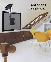 Vaulted Ceiling Tv Mount by Angled Ceiling Tv Mount