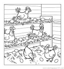coloring page of a chicken chicken coloring pages chickens coloring page chicken little
