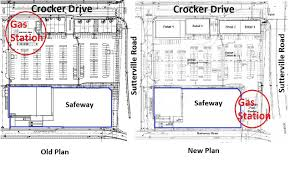 Supermarket Floor Plan by Developer Submits New Plan For Curtis Park Gas Station