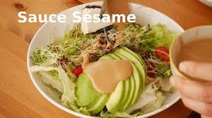 recette cuisine japonaise traditionnelle cuisine japonaise recette de sauce sésame goma sauce