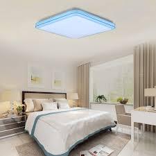 bedroom voice intelligent smart led ceiling lights voice control lighting fixture
