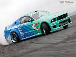 drift cars wallpaper formula drift wallpaper falken ford mustang mymodifiedcar com