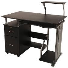 Computer Desk Comfort Products Inc Rothmin Computer Desk Black 50 100505 Best Buy