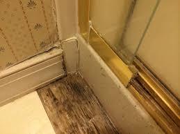 Leaking Shower Door Repair Shower Door Leak Creek Journey
