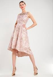 adrianna papell occasion wear peach gold women dresses cocktail