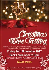 christmas wine tasting british club there u0027s no place quite
