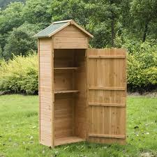 Garden Tool Storage Cabinets New Wooden Garden Shed Apex Sheds Tool Storage Cabinet Unit