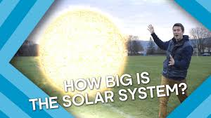 how big is our solar system earth lab youtube