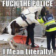 Fuck The Police Meme - nutzhut site meme maker funny image creator nutzhut com