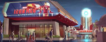Iron Man Awning Iron Man To Star In First Disney Theme Park Ride Based On A Marvel