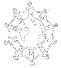 coloring pages of people children of the world coloring pages bestofcoloring com
