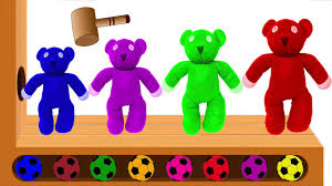 wooden faced teddy bears learn colors with teddy wooden hammer xylophone mr bean