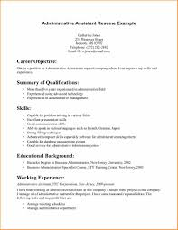 Objectives In Resume Example by 11 Career Objective Examples For Administrative Assistant Basic