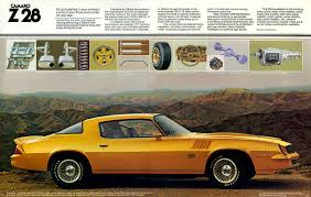 1981 camaro z28 specs 1978 camaro specs colors facts history and performance