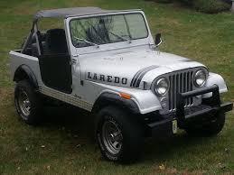 jeep cj laredo jeep cj7 laredo 1984 bright silver metallic