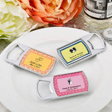 bottle opener wedding favors perfectly plain collection epoxy dome chrome metal bottle opener