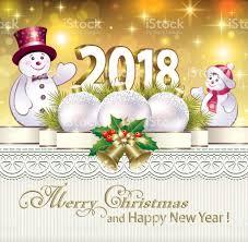 new year 2018christmas decorations stock vector art 826954834 istock